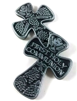 First Holy Communion Pewter Pocket Cross MM1845