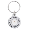 Keychain Mustard Seed Solid Pewter 510-369-8854