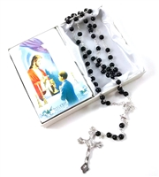 First Communion Rosary Boy Set 4814101