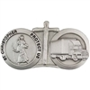 18 Wheeler Saint Christopher Visor Clip VC-910