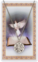 "24"" RCIA MEDAL & PRAYER CARD PSD769"