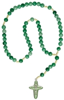 Rosary Child's Gemstone Green RC44