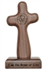 Eucharist Hand Cross with Magnetic Base HC02