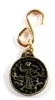 Small Brass Saint Francis Pet Medal BK-P10976G