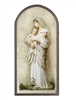 "15"" Marco Sevelli Arched Plaque - Innocence B2319"