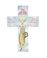 "Gerffert Inspirational 8"" Wood Cross - Confirmation B2420"