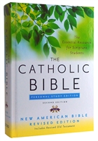 Hardcover The Catholic Bible Personal Study Edition New American Revised Edition #4600