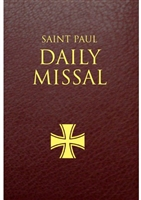 Saint Paul Daily Missal  Burgundy Leatherflex