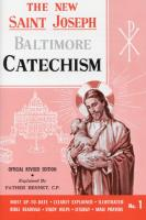 The New St. Joseph Baltimore Catechism  #1 by Fr. Bennet Kelly - Catholic Book, Softcover, 192 pp.