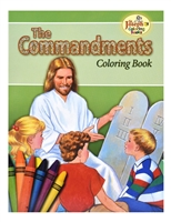 The Commandments Coloring Book 688