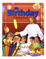 St. Joseph My Birthday Coloring Book 693