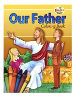 St. Joseph Our Father Coloring Book 696