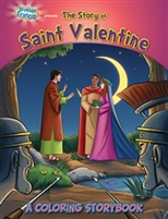 Coloring Storybook - The Story of Saint Valentine