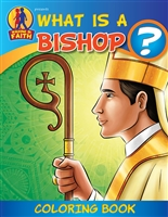 What Is A Bishop? Coloring Book