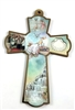 "8"" Decorative Wood Baptism Cross"
