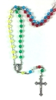 Colorful Bead Mission Rosary