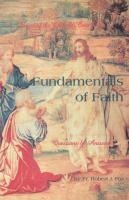 Fundamentals of Faith by Robert J. Fox