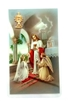 Girl First Communion Holy Card with Medal