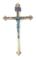 Gold Crucifix with Pewter Corpus GS46028