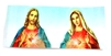 "7"" Sacred Heart of Jesus and Immaculate Heart of Mary Sticker"