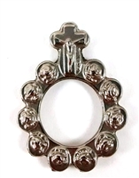 Rosebud Rosary Finger Ring