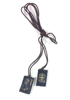 Small Saint Benedict Brown Scapular