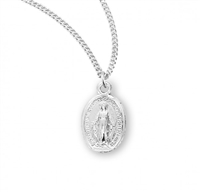 Very Small Sterling Silver Miraculous Medal