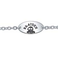 Child ID Bracelet - Boy