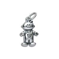 Large 3D Character Charm - Boy