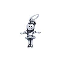 SE Large 3D Character Charm - Ballerina
