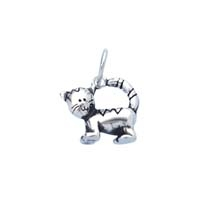 Large 3D Character Charm - Cat