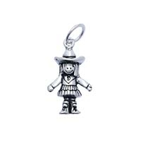 SE Large 3D Character Charm - Cowgirl