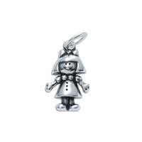 Large 3D Character Charm - Girl