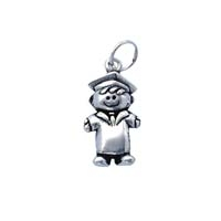 SE Large 3D Character Charm - School Boy