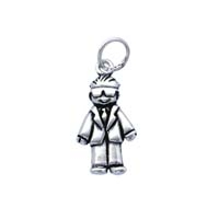 SE Large 3D Character Charm - Best Man
