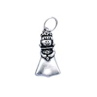 SE Large 3D Character Charm - Maid of Honor