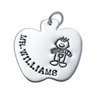 Large Apple Charm, Boy