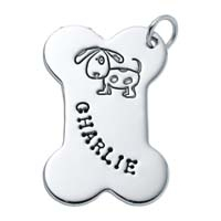 Large Bone Charm, Dog