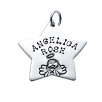 Large Star Charm - Angel