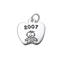 Small Apple Charm, Boy