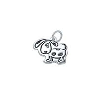 Small Outline Charm - Dog