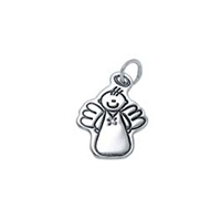 Small Outline Charm - Male Angel