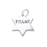 Small Star of David Charm