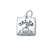 Small Square Charm - Male Angel