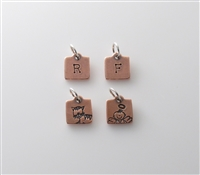 Tiny Little Charm - Copper Square