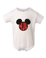 Personalized Monogram Bodysuit