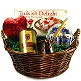 Turkish Coffee Basket with Love