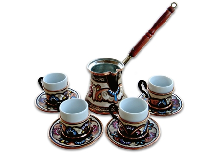 Turkish Coffee Set for Four