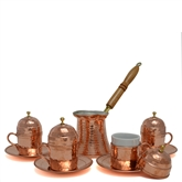 Turkish Coffee Set for four  - Hammer