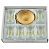 Turkish Tea Glasses - Gold